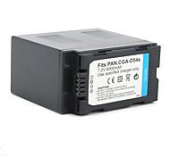 Videocamera digitale batteria per panasonic ag-dvc180a (7.2V, 6000mAh)