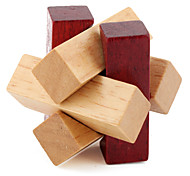 Wooden Knot IQ Magic Cube Puzzle