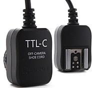 E-TTL FLASH Off Camera Cord for Canon 430EX, 580EX II and 380EX (Black)