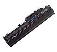 batterie pour MSI Wind U100 U90 u90x Wind12 U200 bie-s11-s12 bie Advent 4211 Ahtec patte n011 netbook Averatec axioo noir