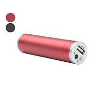 banque d'alimentation universel pour iPad, iPhone, iPod, téléphones mobiles et PSP (couleurs assorties, 2200mAh)