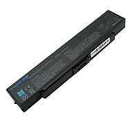 Batteria per Sony Vaio VGN-AR VGN-CR VGN-nr VGP-bps10 VGP-BPS9 VGP-BPS9A / b VGP-BPS9 / b VGP-BPS9 / s nero