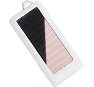 solaire alimenté par batterie et une lampe LED pour les téléphones mobiles, PDA, MP4, PSP, caméras (blanc, 1500mah)