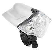 4-LED Bicycle Headlamp with Mount (Silvery)