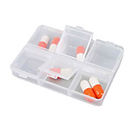 "Travel Pill Box/CaseForTravel Accessories for Emergency Plastic 3.15""*2.36""*0.6""(8cm*6cm*1.5cm)"