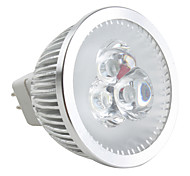 4W GU5.3(MR16) Spot LED MR16 3 LED Haute Puissance 190 lm Blanc Naturel Gradable DC 12 V
