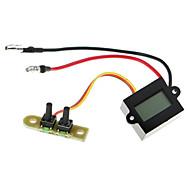 digital de LCD de montaje en la motocicleta del reloj