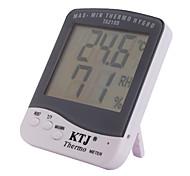 закрытый макс-мин термометр с гигрометром