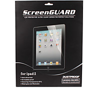 High Transparency Screen Guard with Cleaning Cloth for iPad