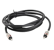 Optical Fiber Digital Audio Toslink Male to Male Cable (3 Meters)