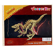 Wooden 3D Dinosaur Puzzle Toy