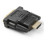 Gold Plated DVI 24+1 Male to V1.3 HDMI 19-Pin Male Converter