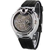 Sporty LED Watch Butane Lighter (Silver)