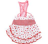 abito stile bretella per i cani (XS-XXL, colore rosa)