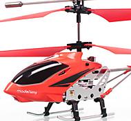 3.5-kanaals rc helicopter met ingebouwde gyroscoop (rood)