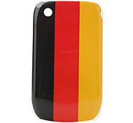 bandera de alemania patrón de estuche protector para blackberry 8520 y 8530