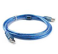 USB 2.0 AM/BM Cable for Computer Printer Scanner (1.5M)