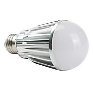 E26/E27 7 W 7 High Power LED 630 LM Natural White A Globe Bulbs AC 85-265 V