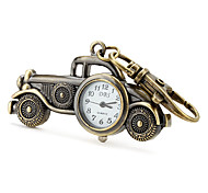 Unisex Alloy Analog Quartz Keychain Watch with Retro Car (Bronze) Cool Watches Unique Watches