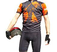 JAGGAD Cycling Tops / Jerseys Men's Bike Breathable / Quick Dry Short Sleeve Polyester / Coolmax Characters Light GrayS / M / L / XL /