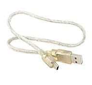 USB 2.0 мужчины до 5-контактный кабель Mini B для MP3 MP4 Камера 0,2 М