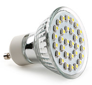 GU10 LED Spotlight MR16 30 SMD 3528 90 lm Natural White AC 220-240 V