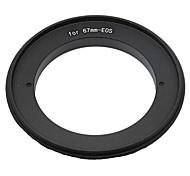 67mm bague adaptatrice inverse pour appareil photo Canon EOS