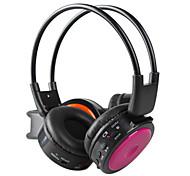 auriculares para ipod ipad inalámbricos auriculares mp3 rosa