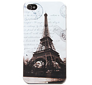 Hülle für iPhone 4/4S mit Eiffel Turm Motiv (Verschiedene Farben)