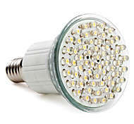 3W E14 Focos LED MR16 60 LED de Alta Potencia 300 lm Blanco Natural AC 100-240 V