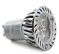 Lâmpadas de Foco de LED GU10 4W 270 LM 3000K K Branco Quente 3 LED de Alta Potência AC 85-265 V MR16