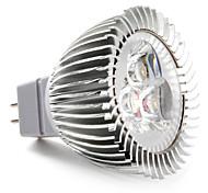 Spot Blanc Naturel MR16 GU5.3 W 3 LED Haute Puissance 270 LM DC 12 V