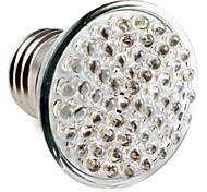 Spot Blanc Naturel PAR E26/E27 W 60 LED Haute Puissance 300 LM 2800K K AC 100-240 V