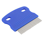 Portable Mini Grooming Comb for Small Pets (Blue)