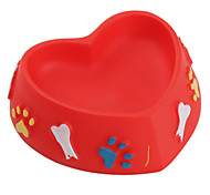 Heart Shaped Pet Bowl