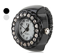 Women's Star Crystal Style Alloy Analog Quartz Ring Watch (Assorted Colors)