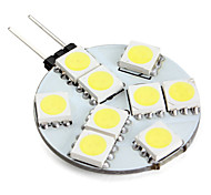 Luces LED de Doble Pin G4 2W 9 SMD 5050 100 LM Blanco Natural V