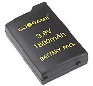 batterie de remplacement pour PSP (3.6v, 1800mah)