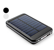 Portable 5000mAh Solar Power bank Charger External Battery for iphone 6/6 plus/5/5S/Samsung S4/S5/Note2