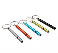 Flute Shaped Whistle Key Chain (Ramdon Color)