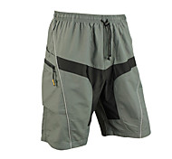 SANTIC Bike/Cycling Shorts / Padded Shorts / Bottoms Men's Breathable / Quick Dry / Wearable / 3D Pad Spandex / Polyester PatchworkM / L