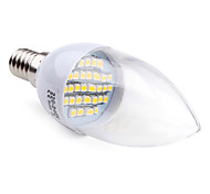 E14 2 W 30 SMD 3528 100 LM Warm White C Candle Bulbs AC 220-240 V