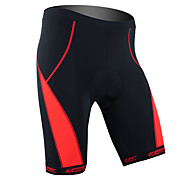 Santic-Cycling Shorts Men and Women's Coolmax Material Cycling 1/2 Shorts(Red)
