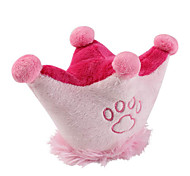 Footprint Crown Style Soft Pet Squeaking Toy for Dogs (14 x 10cm)
