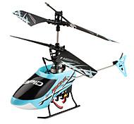301A F-serie 4-kanaals mini-afstandsbediening helikopter (blauw)
