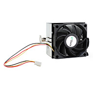 70mm CPU Cooling Fan For AMD AM3 AM2 Rifle Bearing Aluminum