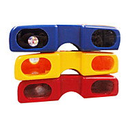 Bright Color Glasses Style Portable Night Vision Binoculars (Random Color)