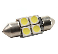 High-Performance-31mm 4 * 5050 SMD weiß LED KFZ-Signalleuchte