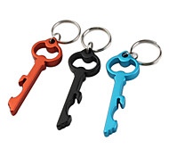 Key Shaped Bottle Opener Keychain (Random Color)