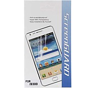 LCD Screen Protector für Samsung Galaxy S3 I9300 (Transparent)